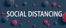 Social Distancing Theme With V...
