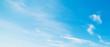 Leinwandbild Motiv white and blue sky in summertime