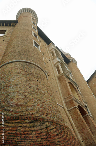 tower of Ducal Palace called Palazzo Ducale in Italian language Wallpaper Mural