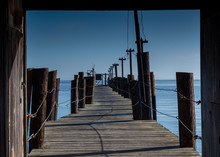 Wooden Pier Of China Camp Beac...
