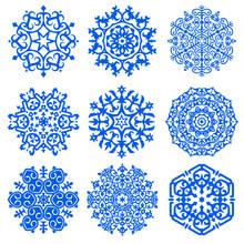 A Set Of Nine Ethnic Designs, ...