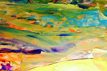 Colorful Abstract Painting Bac...