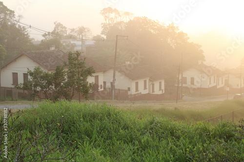 English railway village of Paranapiacaba Wallpaper Mural
