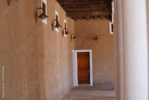 Canvas Print The Murabba Palace Qasr al Murabba is one of the historic buildings in Riyadh, Saudi Arabia