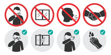 Preventive Measures Icons For ...