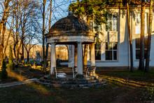 Kunino Village, Roman, Bulgaria, 03.13.2020 - Stonemasonry Highschool