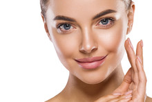 Eyes Lips Nose Woman Healthy S...