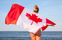 National Flag Of Canada. Beaut...