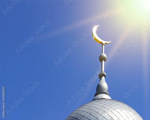 Stampa su Tela Mosque of Muslim