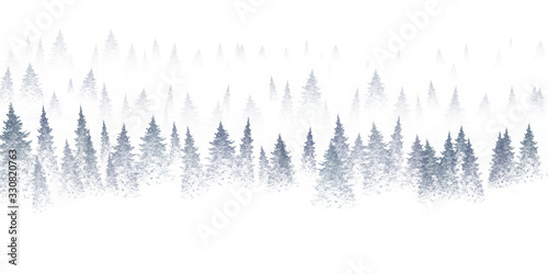 Fototapety, obrazy: christmas background with copy space for text