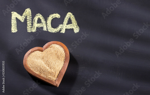 Photo Maca with invigorating and aphrodisiac properties - Lepidium meyenii