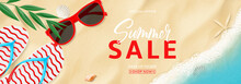 Summer Sale Promo Banner. Top ...