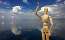 Greeting Human Mannequin Again...