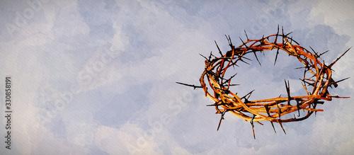 Lent Season, Holy Week, Good Friday concepts Fototapet