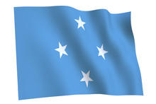 Federated States Of Micronesia Flag Waving