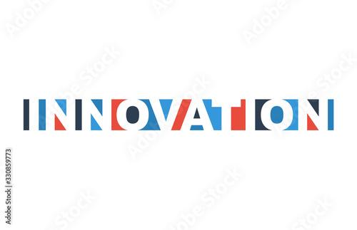 Cuadros en Lienzo colorful vector illustration banner innovation