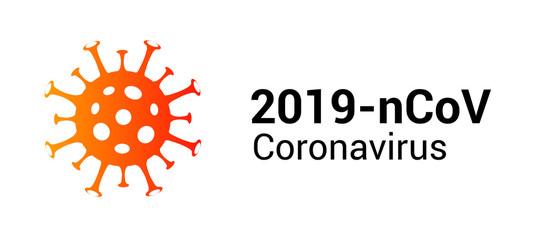 Coronavirus covid 19 vector icon. Pandemic corona virus illustration sign