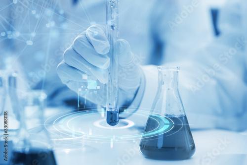 Obraz medical research experiment - fototapety do salonu