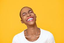 Happy Optimistic African Ameri...