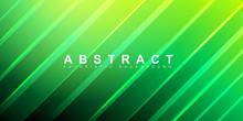 Green Stripe Texture Background