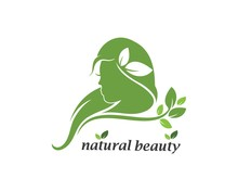 Natural Beauty Woman Vector Il...