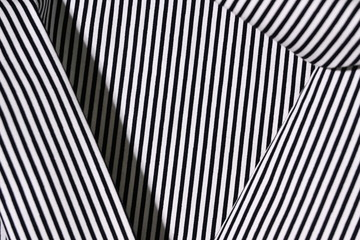 fabric black and white stripe line pattern modern style of fashion cloth textile