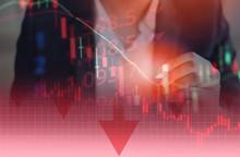 Businessman Trading Stocks Mar...