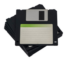 Stacked Floppy Disks / Diskett...