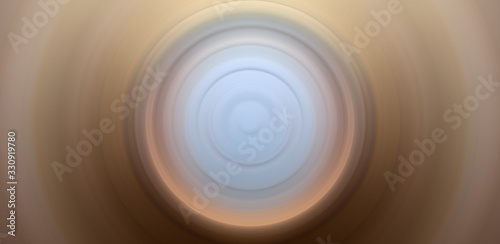 Fototapety, obrazy: Abstract round background. Circles from the center point. Image of diverging circles. Rotation that creates circles.
