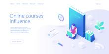 Online Education Concept Vecto...