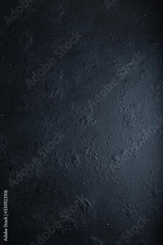 Photo Abstract grunge dark navy blue background, textured. Copyspace.