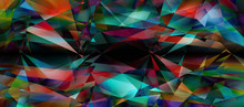 Abstract Geometric Background ...