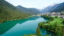 Picturesque Alpine Lake And Vi...