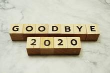 Goodbye 2020 Alphabet Letters ...