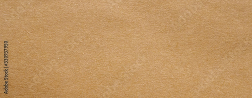Brown paper recycled kraft sheet texture cardboard background Fototapet