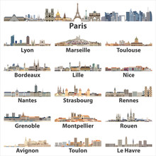 France Cities Skylines Icons I...