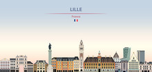 Vector Illustration Of Lille C...