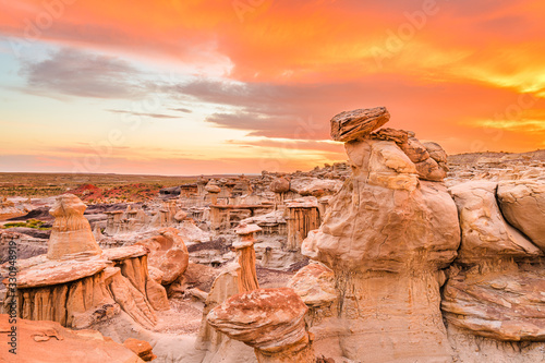 Fototapeta Bisti Badlands, New Mexico, USA