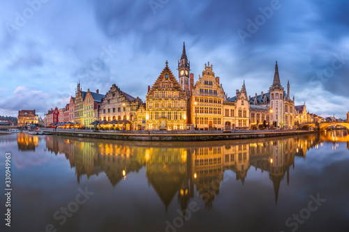 Photo Ghent, Belgium at the Graslei