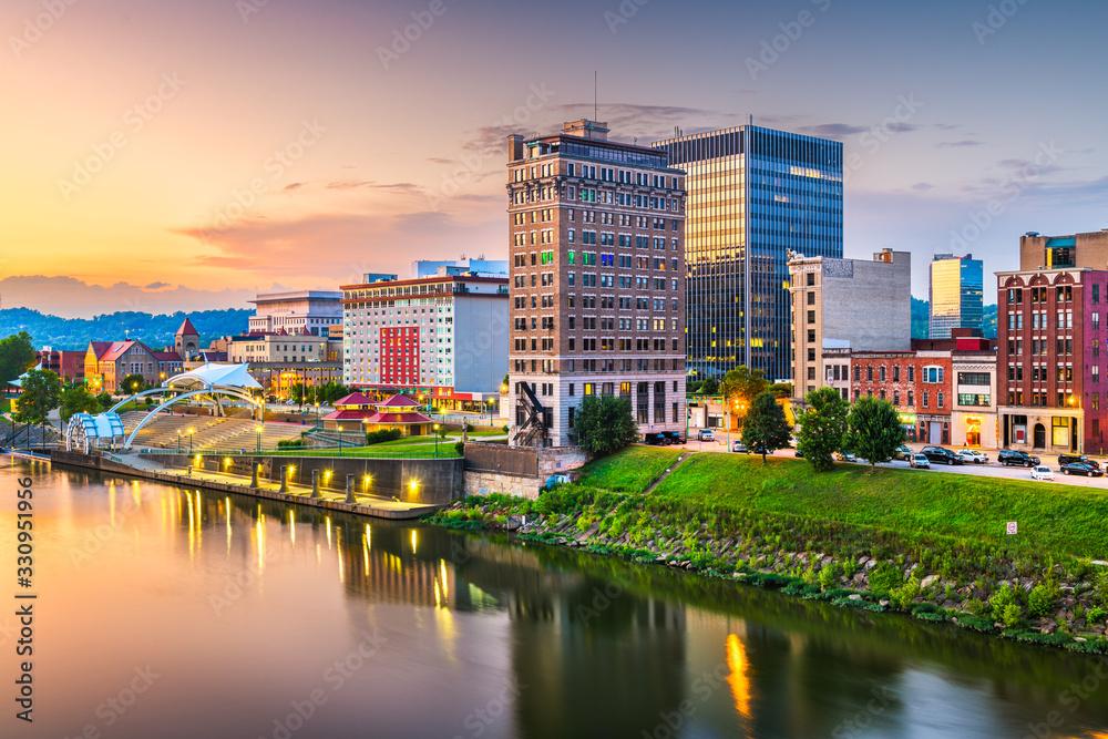Fototapeta Charleston, West Virginia, USA