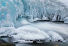 Winter Landscape Of Gull Creek...