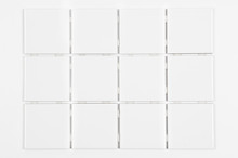 Sample Of White Tile, Isolated...
