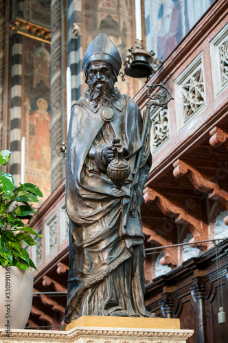 фотография The Altar of Sant'Antonio – Donatello - Basilica of Saint Anthony of Padua, Ital