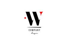 W Letter Logo Alphabet Design ...