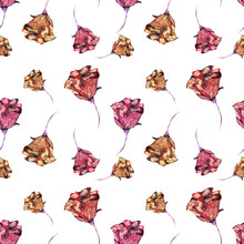 Floral Seamless Pattern Made O...