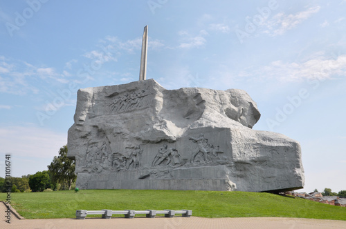 Memorial Brest fortress-hero Tablou Canvas