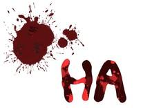 Laugh Blood Word