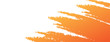 abstract orange and white background template with grunge or brush concept design