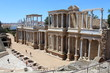 Spain Extremadura Province of Badajoz Merida Roman Theater