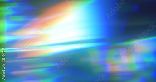 abstract dynamic blue background in the form of aberration and glare from glass Wallpaper Mural
